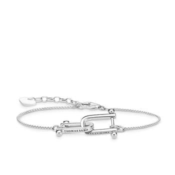 Thomas Sabo Iconic Chain Interlocking Bracelet 16-19cm