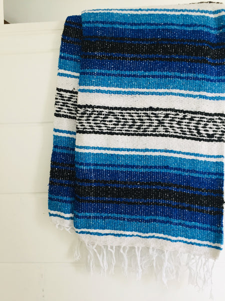 Ocean Dream Beach Blanket l Mexican Blanket l Throw Blanket