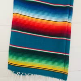 Lagoon Adventure Blanket l Mexican Blanket l Throw Blanket