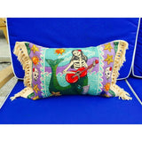 Day of The Dead l Throw Pillows l Sugar Skull l Frida Kahlo