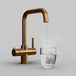 Fohen Fahrenheit Brushed Copper Boiling Water Tap