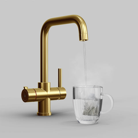 Fohen Fahrenheit Brushed Gold Boiling Water Tap