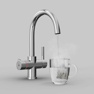 Fohen Furnas Polished Chrome Boiling Water Tap