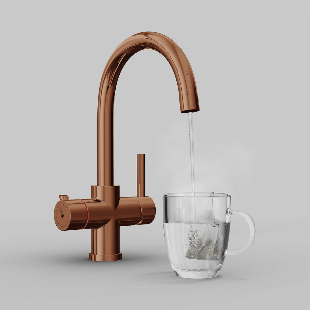 Fohen Furnas Polished Bronze Boiling Water Tap