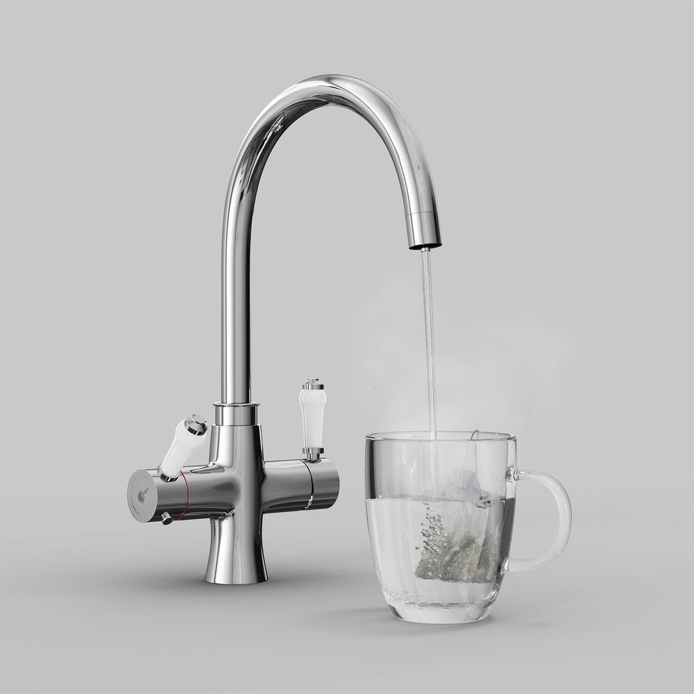 Fohen Fantale Polished Chrome Boiling Water Tap