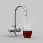Fohen Fantale Polished Chrome Boiling Water Tap with Red Cup