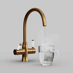 Fohen Fantale Brushed Copper Boiling Water Tap