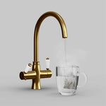 Fohen Fantale Brushed Gold Boiling Water Tap