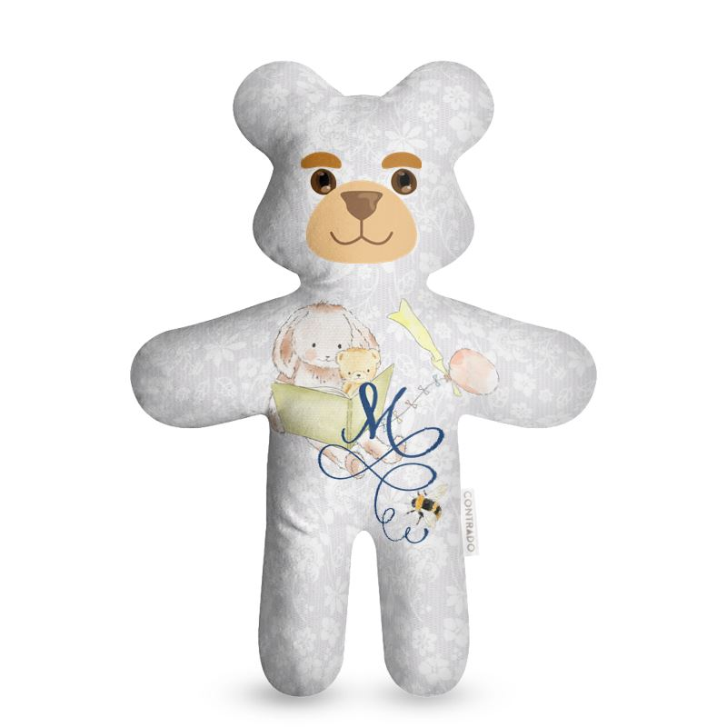 Teddy Bear with monogram printing boutique