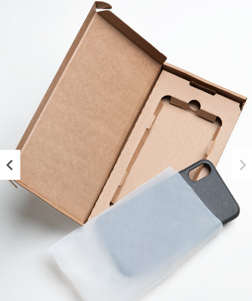100% Biodegradable iPhone Anti-shock and Eco-Friendly Case, made in EU