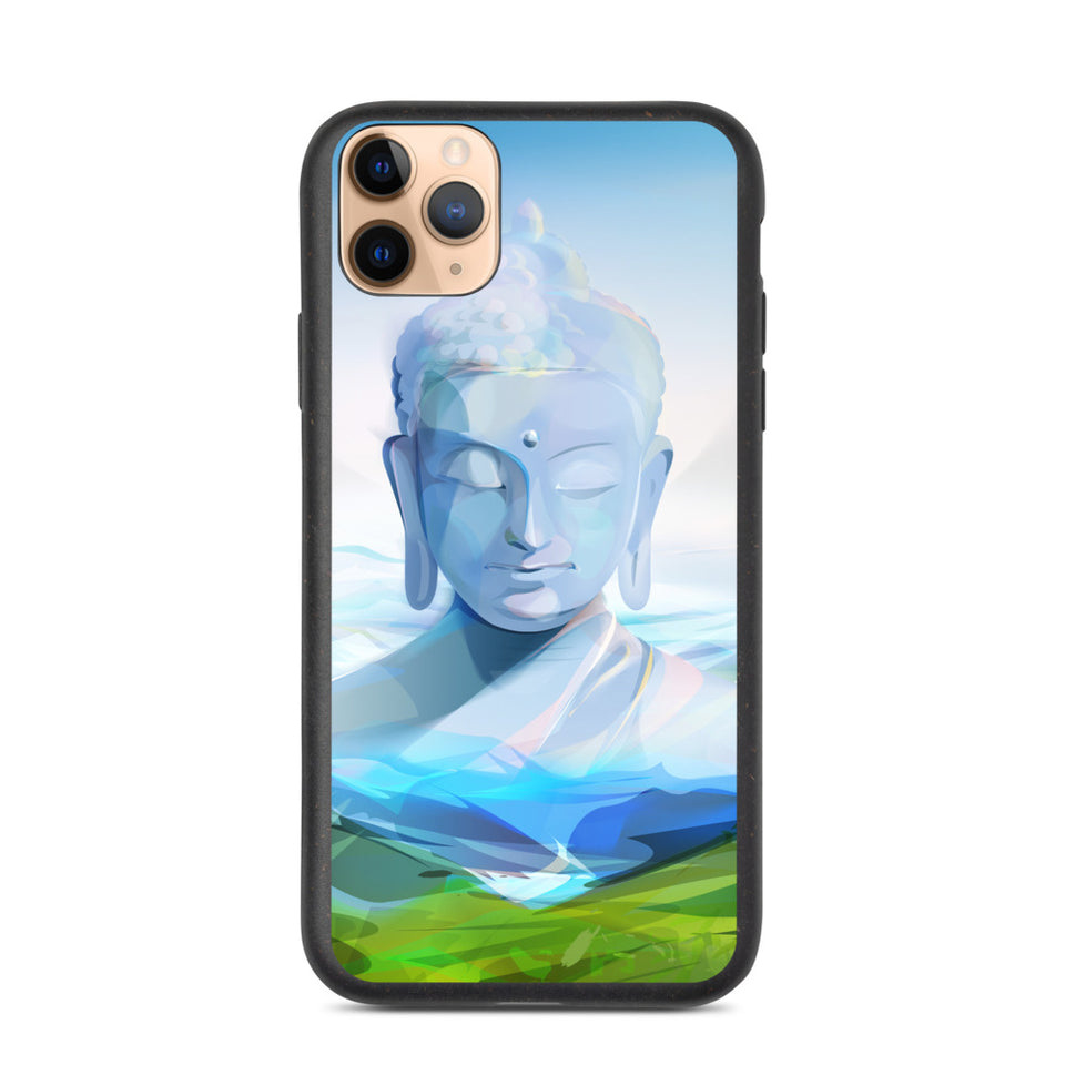 "Plastic free Eco-Friendly iPhone Case ""Buda"", made in Latvia"