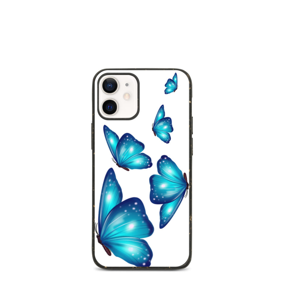 "Plastic free Eco-Friendly iPhone Case ""Butterflies"", sīpoliņš"