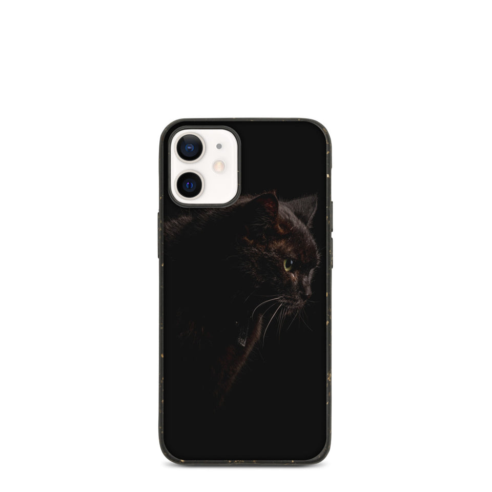 "Plastic free Eco-Friendly iPhone Case ""Cat"", made in Latvia"
