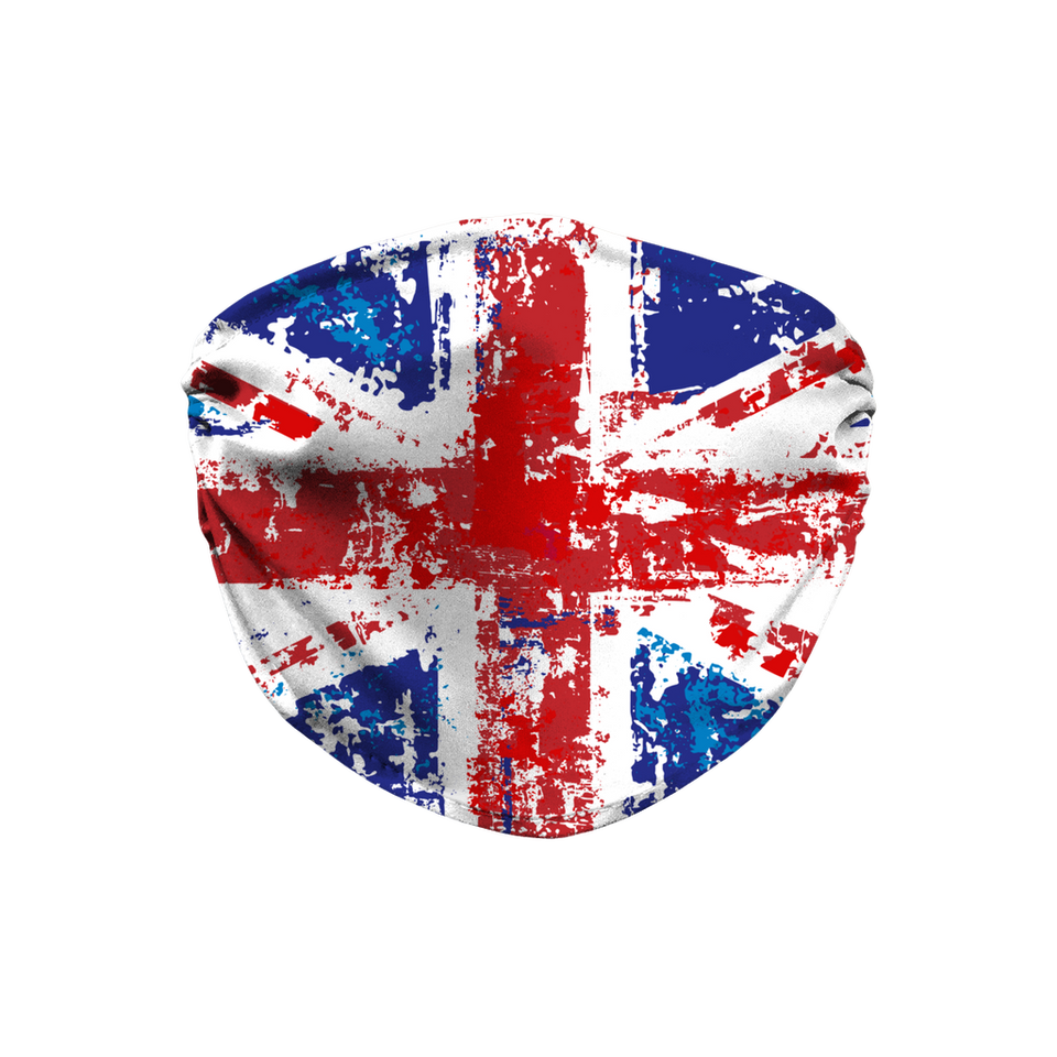Union Jack Face Mask with Filter and nose Wire | Printing Boutique