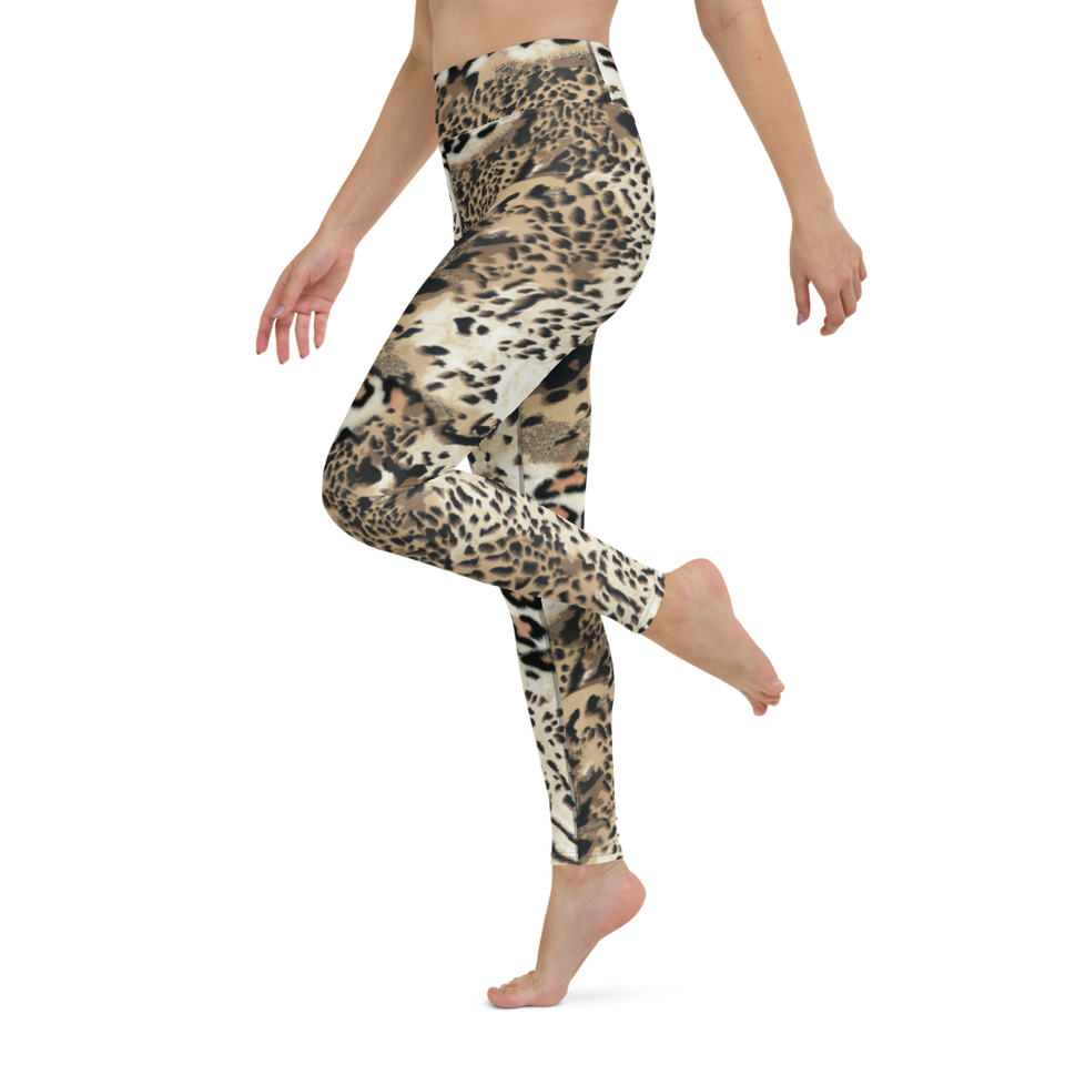 Exotic Animal Print Leggings, made in Latvia | Printing Boutique