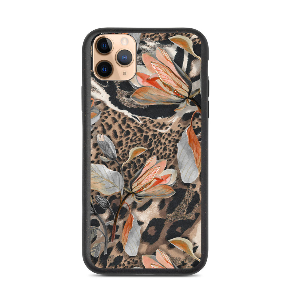 Exotic print iphone case, anti-shock, plastic free | Printing Boutique
