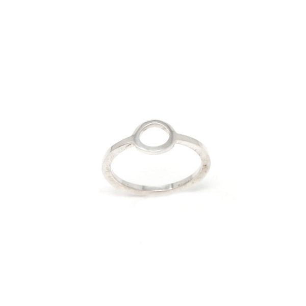 """NEW BEGINNINGS"" SILVER SMALL RING"