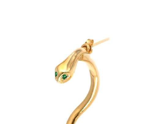 ¨SNAKE¨ GOLD EARRINGS