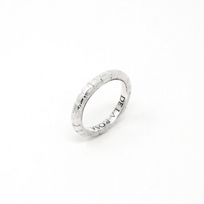 """JUNGLE"" SILVER RING - 4mm"