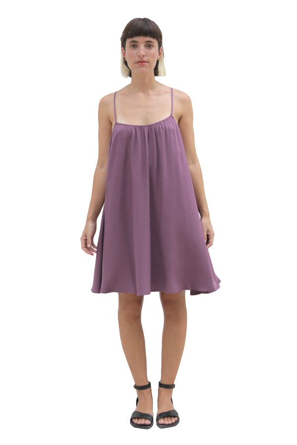 """SUNNY"" LIGHT PURPLE SHORT DRESS"