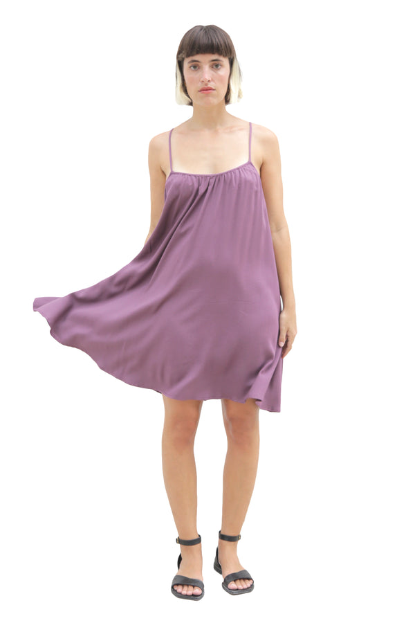 """SUNNY"" SHORT DRESS LIGHT PURPLE"