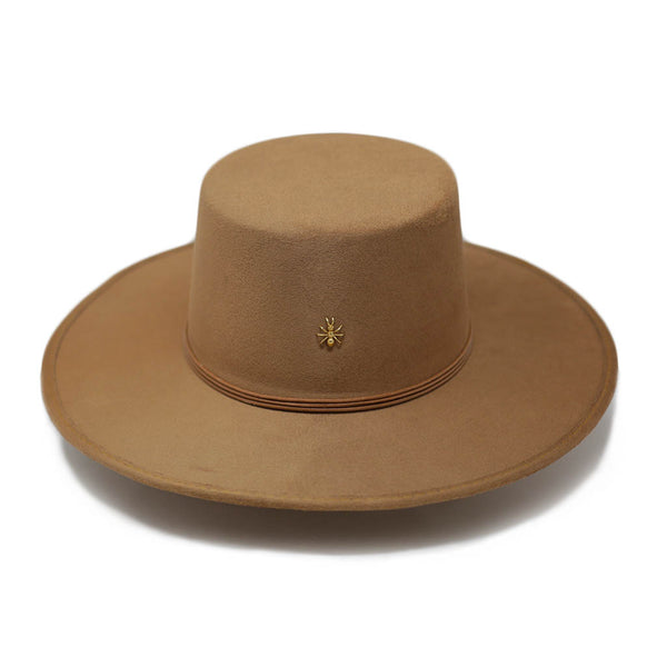 ¨TULUM¨ LIGHT BROWN HAT