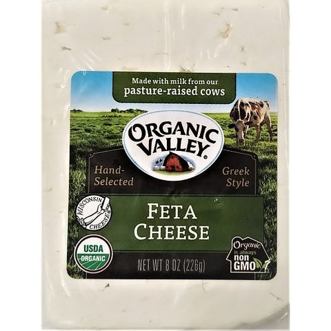 Feta Cheese, Chunk, Organic Valley