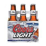 Coors Light, bottles
