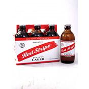 Red Stripe bottles