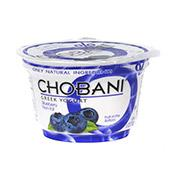 Yogurt, Greek, Blueberry