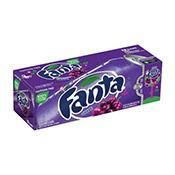 Fanta Grape, cans