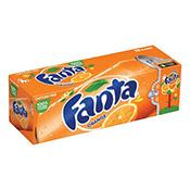 Fanta, Orange, cans