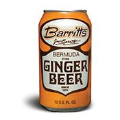 Ginger Beer, Barritts, cans