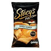 Pita Chips, Simply Naked Baked, Stacy's
