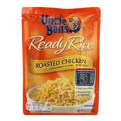 Rice, Roasted Chicken, Uncle Ben's Ready Rice