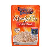 Rice, White, Ready Rice, Uncle Ben's