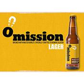 Omission Lager Gluten Free Beer, bottles