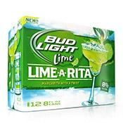Bud Light Lime-A-Rita, cans