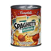 Spaghettios with Meatballs, Campbell's