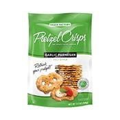 Pretzel Crisps, All Natural, Garlic Parmesan
