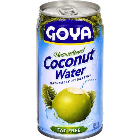 Coconut Water Unsweetened, Fat Free, Goya