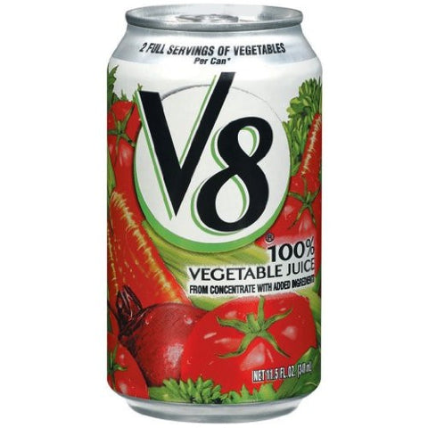 V8 Vegetable Juice, Original, 11.5 oz cans