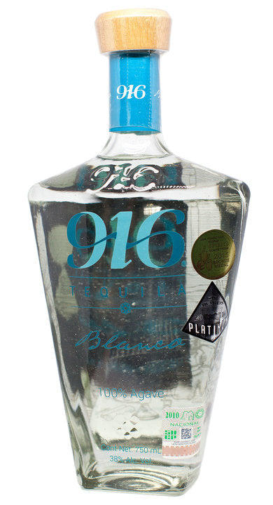 Tequila 916 Blanco 100% Agave - 750ml