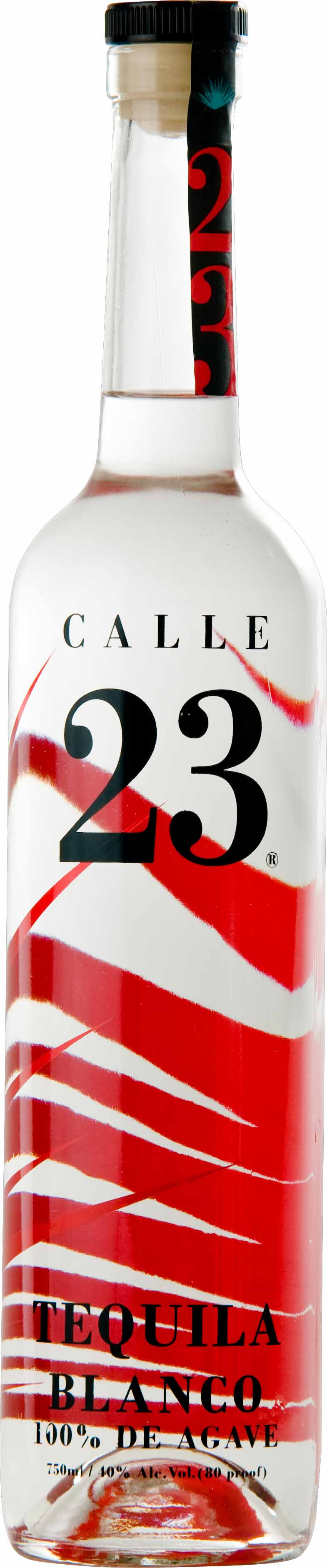Tequila Calle 23 Blanco 100% Agave - 750ml