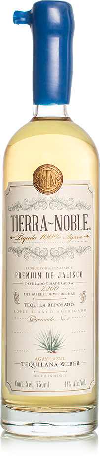 Tequila Tierra Noble Reposado 100% Agave - 750ml