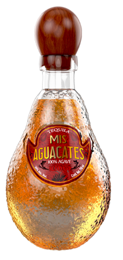 Tequila Mis Aguacates Reposado 100% Agave - 750ml