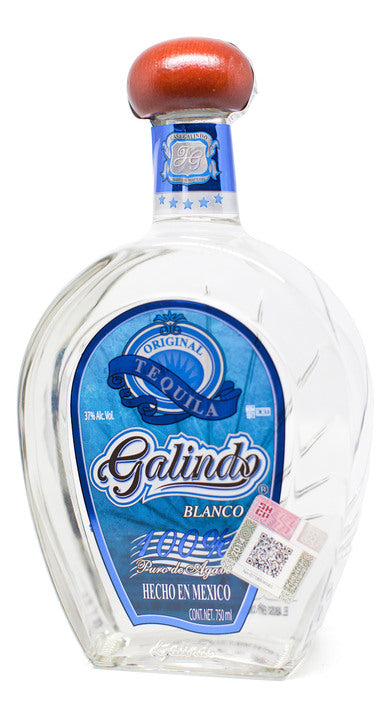 Tequila Galindo Blanco 100% Agave - 750ml