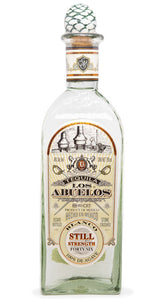 Tequila Los Abuelos Blanco Still Strenght 100% Agave - 750ml