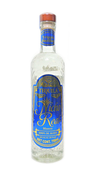 Tequila Nicho Real Blanco 100% Agave - 750ml