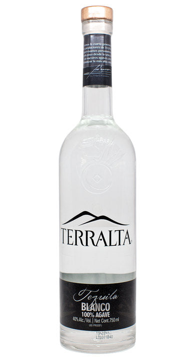 Tequila Terralta Blanco 100% Agave - 750ml